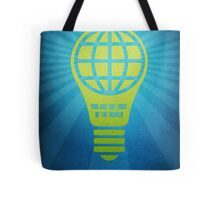 Word: Matthew (Light of the World) Tote Bag