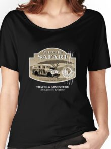 Landrover Jeep Safari Women's Relaxed Fit T-Shirt