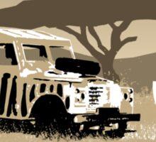 Landrover Jeep Safari Sticker