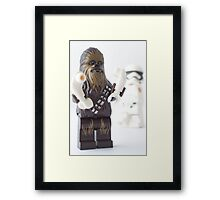 And they still won't let the wookie win? Framed Print