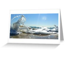 Sky Sea Sand 3 Greeting Card