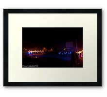 2011 FIREDANCE 130 Framed Print