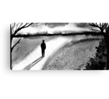 long road to reason Canvas Print