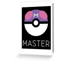 Minimalist Master Ball Greeting Card