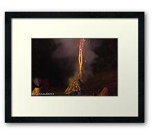 2011 FIREDANCE 175 Framed Print