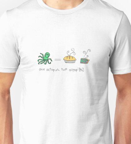 Octopus algebra Unisex T-Shirt