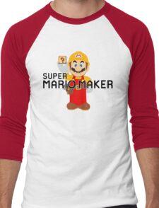 Super Mario Maker Men's Baseball ¾ T-Shirt
