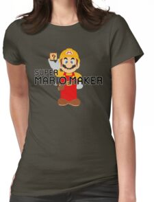 Super Mario Maker Womens Fitted T-Shirt