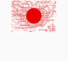Modern Japan Tokyo Metro Map Unisex T-Shirt