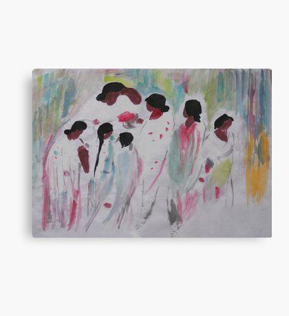 bath Canvas Print