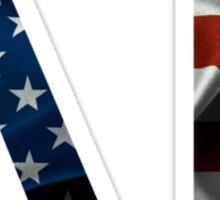 Delta Gamma American Flag Sticker