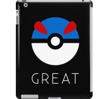 Minimalist Great Ball iPad Case/Skin