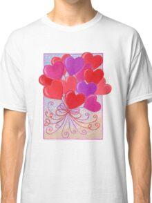 Heart Balloons  Classic T-Shirt