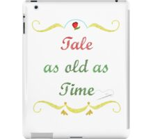Tale as Old as Time Needlepoint iPad Case/Skin