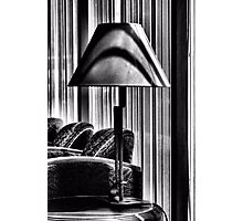The Lamp In The Lobby Photographic Print