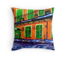 Pat O'Briens Throw Pillow