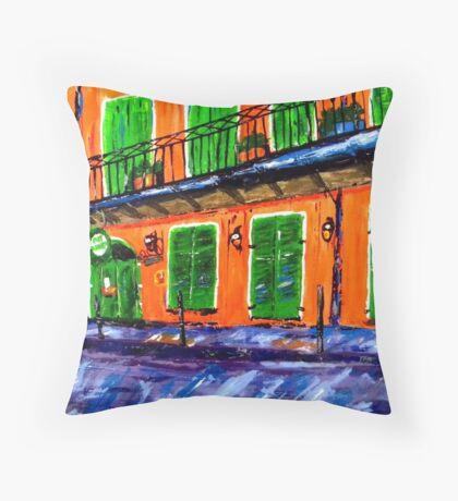 Pat O'Briens Throw Pillow