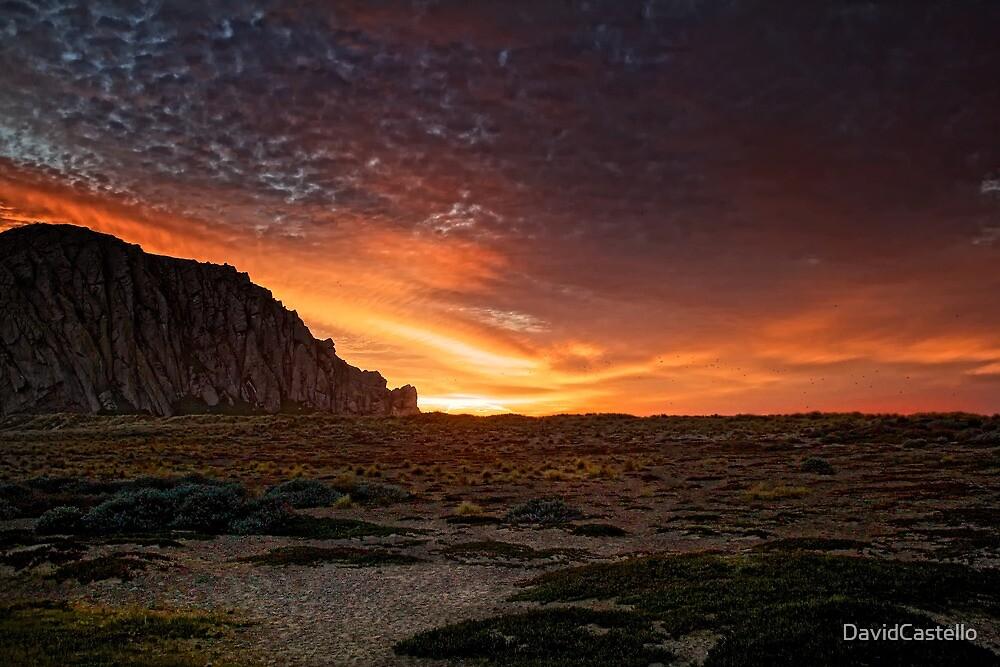 Sunset On The Dunes by DavidCastello