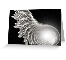 Vow of Silence Greeting Card