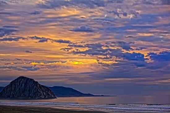 Soft And Beautiful Sunset by DavidCastello