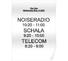 Telecom's First Show Poster