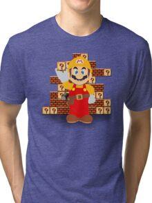 Super Mario Maker Tri-blend T-Shirt