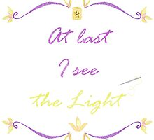 I See the Light Needlepoint by WDWCEC23