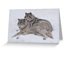 Pride of the Pack Greeting Card