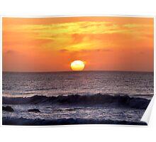 Taranaki Sunset Poster