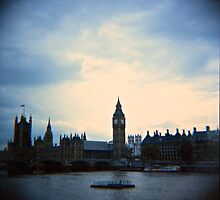 Big Ben - Cross Processed by Reuben Reynoso