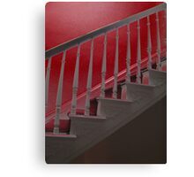 Stair to hell Canvas Print