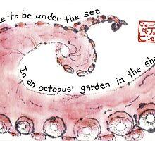 Octopus Leg by dosankodebbie