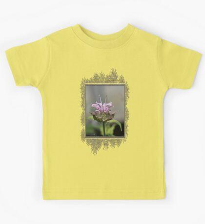 Bee Balm named Panorama Lavender Kids Tee