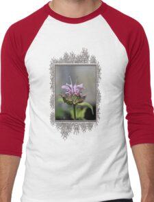 Bee Balm named Panorama Lavender Men's Baseball ¾ T-Shirt