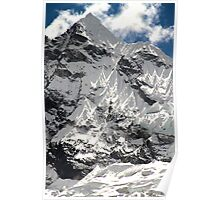Visible Triangles - Peak in Peru Poster