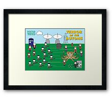 Mini Doctor Who - Terror of the Autons Framed Print