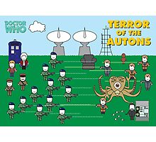 Mini Doctor Who - Terror of the Autons Photographic Print