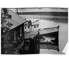 Trawler in the stillness Poster