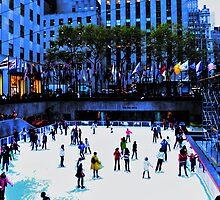Winter Skating by Stephen Burke