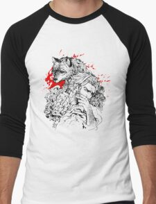 TWAU Smoke & Mirrors Men's Baseball ¾ T-Shirt