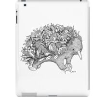 Botanical Echidna iPad Case/Skin