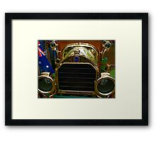 I am gold Framed Print