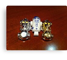 R2D2 and C3PO Canvas Print