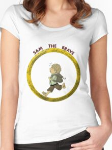 Sam the Brave Women's Fitted Scoop T-Shirt