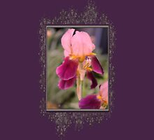 Tall Bearded Iris named Indian Chief Womens Fitted T-Shirt