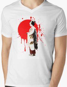 Japanese Geisha Kyoto Japan Mens V-Neck T-Shirt