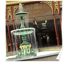 Adelaide Arcade - Rundle Mall, Adelaide, South Australia Poster
