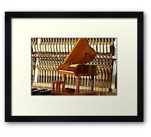 Piano-on-piano  Framed Print