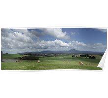 Deloraine countryside Poster