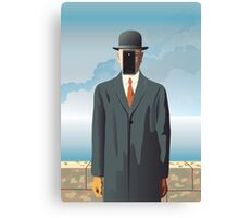 Grandson of Man (after Rene Magritte) Canvas Print